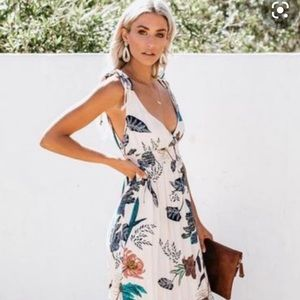 Vici Collection sacred garden maxi dress